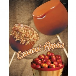 Gold Medal 4017Caramel Apple Poster