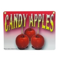 Gold Medal 4899 Heavy Duty Candy Apple Sign