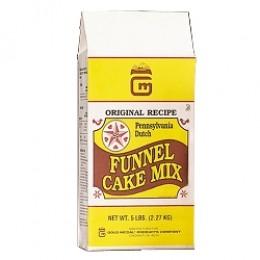 Gold Medal 5100 Pennsylvania Dutch Funnel Cake Mix 6-5lb Bags/CS