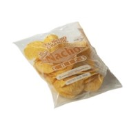 Gold Medal 5256 Regular Nacho Chips 24oz Bags 4/CS