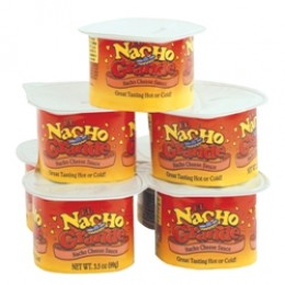 Gold Medal 5277 El Nacho Grande Deluxe 3.5 oz Portion Pak Cheese 48/CS