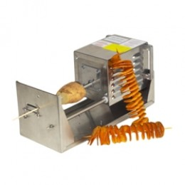 Gold Medal 5280M Motorized Saratoga Swirls Fry Cutter