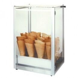 Gold Medal 8211 Giant Waffle Cone Display Case
