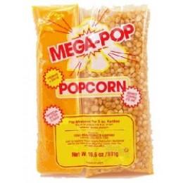 Gold Medal 2838 Mega Pop 8oz Coconut Oil, Salt Kits 24/CS