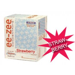 Gold Medal 1010 Ee-Zee Strawberry Concentrate Pouch 100 /Case