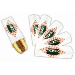 Gold Medal Paragon Hot Dog Paper Bag Standard 1000/CS
