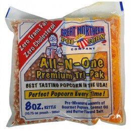 Great Northern 4110 Portion 8 oz Popcorn Packs 24/CS
