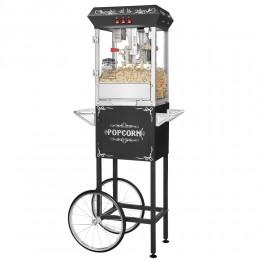 Great Northern 6127 Popcorn Black GNP-800 All-Star Popcorn Popper Machine/Cart 8oz