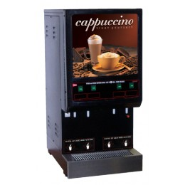 Cecilware 4K-GB-LD Budget 4 Flavor Hot Cappuccino Dispenser 120V