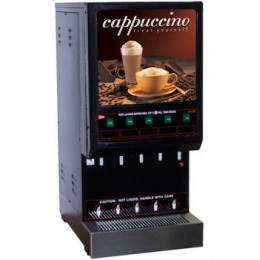 Cecilware 5K-GB-LD Budget Series 5 Flavor Hot Cappuccino Dispenser