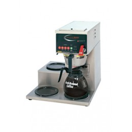 Grindmaster Precision Brew Automatic Coffee Brewer Right Side Warmers