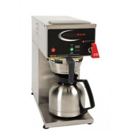 Grindmaster Auto Coffee Brewer, Pourover, Faucet & Digital Control