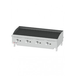 Cecilware CCP48 Stainless Steel Gas Charbroiler 48