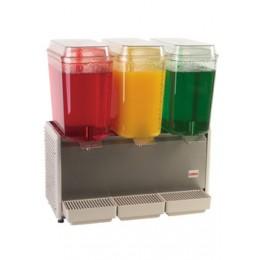 Crathco D35-3 Cold Beverage Dispenser for Premix S/S 3 Bowl