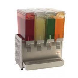 Crathco E49-4 Mini Cold Beverage Dispenser 4 Bowl Plastic Side