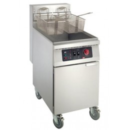 Cecilware Floor Model Electric Fryer w/ Stainless Steel Tank 65 lbs