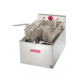 Cecilware EL120 Countertop Medium 15 lb Duty Electric Fryer 120V