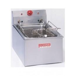 Cecilware EL270 Electric Medium-Duty Countertop Fryer 15lb