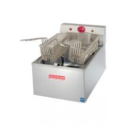Cecilware EL310 Electric Medium-Duty Countertop Fryer 20 lb