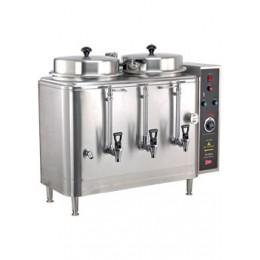 Cecilware FE100N-3 Twin 3 Gallon Coffee Urn, 120/240V or 120/208V, 3Ph