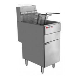 Cecilware FMS403LP Gas Floor Fryer 40 lbs LP Gas