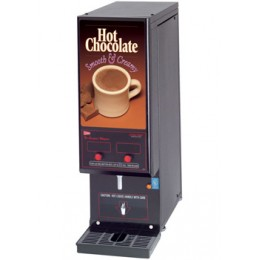 Cecilware Two Flavor Compact Whipper Series Hot Chocolate Dispenser