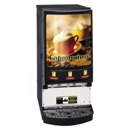 Grindmaster PIC3 Powdered Specialty Beverage Dispenser 3 Flavor