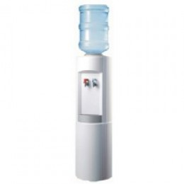Alpine 6700-W Alternative Bottle Water Cooler Hot and Cold White