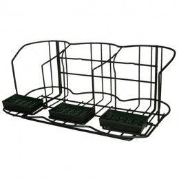 Side-by-Side Airpot Rack for 3 Airpots