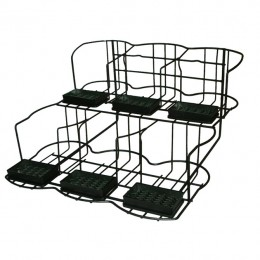 Inline Airpot Rack for 6 Airpots