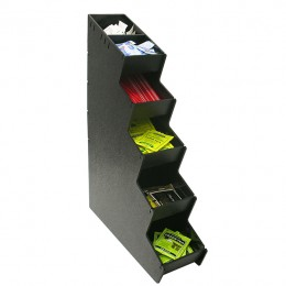 Narrow Inline Condiment Stand 5 Selection