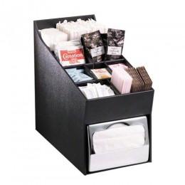 Dispense-Rite NLOADNH Countertop Napkin, Straw and Condiment Organizer