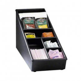 Dispense-Rite Countertop Lid, Straw & Condiment organizer Narrow