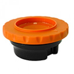 Brew-thru style Thermal Carafe Lid Orange Decaf