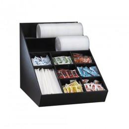 Dispense-Rite Lid, Straw & Condiment Organizer Wide