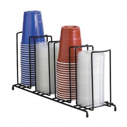 Dispense-Rite Cup and Lid Dispenser Vertical - 4 Section