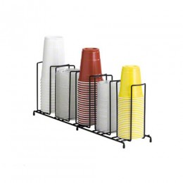 Dispense-Rite Cup and Lid Dispenser Vertical - 5 Section