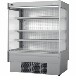 Infrico EML 18 INOX M2 Air Curtain Refrigerator, 47.3 cu ft, 4 Shelves