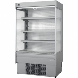 Infrico EML 9 INOX M2 Air Curtain Refrigerator, 23.7 cu ft, 4 Shelves