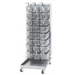 Keating 010434 Portable 18 Capacity Basket Rack