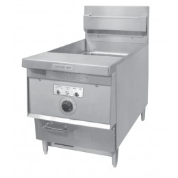 Keating 036392 Model 14 BB E Counter Model Instant Recovery Fryer Electric 480V/3PH