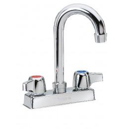 Krowne 11-400L Commercial Series Faucet 3.5in Gooseneck Spout Low Lead