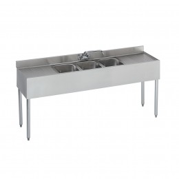 Krowne 18-83C 1800 Series Compartment Bar Sink