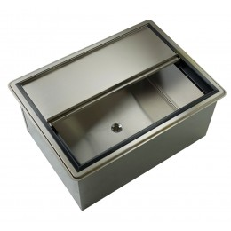 Krowne D2712-7 - Large Drop-In Ice Bin with Cold Plate