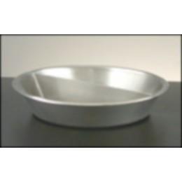 Legion 324165 Round Food Pan Half Size Stainless Steel 3 Gallon