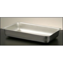 Legion 324173 Full-Size Food Pan Oblong with Partition Stainless Steel 3 Gallon