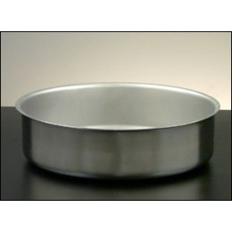 Legion 2D08E Round Water Pan 2 Gallons Stainless Steel 12