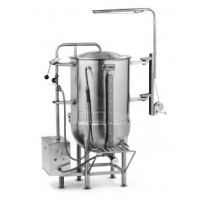 Legion LTCR-100 2/3 Jacketed Deep Drawn Construction Coffee Kettle Stainless Steel 62