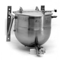 Legion LTWT-30 2/3 Jacket Wall Mounted Direct Steam Kettle Stainless Steel 23