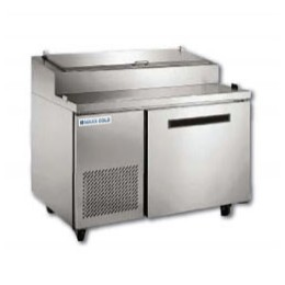 Maxx Cold MXCPP50 Pizza Preparation Table with 6 Pans 12 cu. ft.